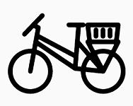 Cykelkurve til bag