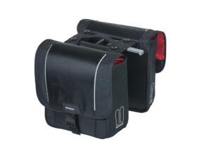 Basil Sport Design - Cykeltasker til bag - Double bag - 32 liter - Black