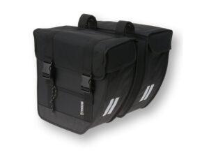 Basil Tour - Cykeltaske - Double bag - 26 liter - Black