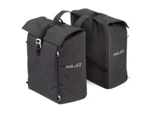 XLC - Commuter - Taske til bagagebærer - Sort