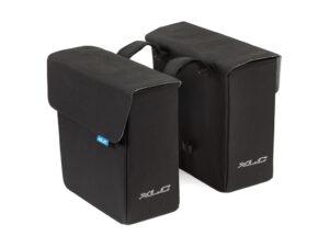 XLC - Double bag - Tasker til bagagebærer - Sort