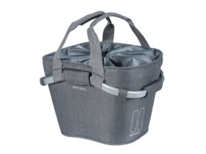 Basil 2day Carry All - Cykelkurv - 15 liter - Grey melee