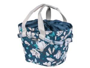 Basil Magnolia Carry All - Cykelkurv - 15 liter - Teal blue